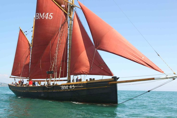 Sailing in the English Riviera