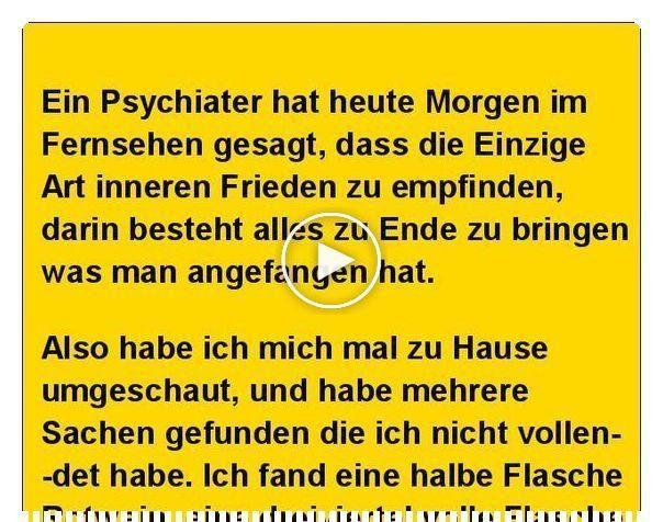 Der Psychiater Im Fernsehen Hatte Recht Ein Psychiater Hat Heute Morgen Im Fe Funny Gif Videos Funny Funny Animal Videos