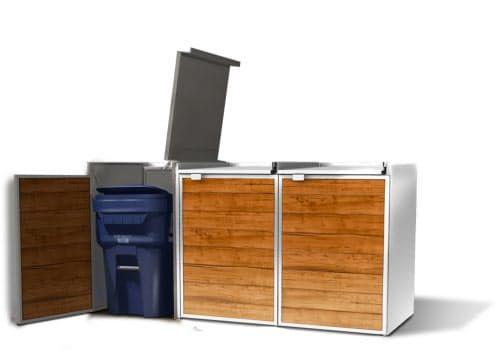 Urbin by Ubisu: Stylish, Modular Trash & Recycling Storage