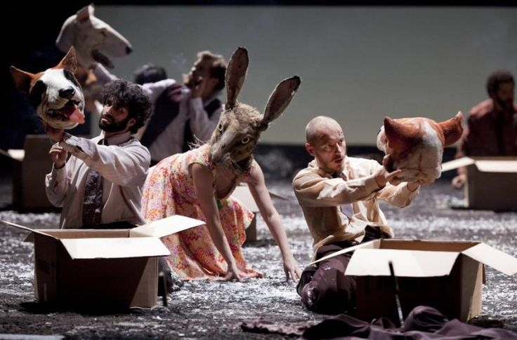 Fabulous Beast Dance Theatre's  The Rite of Spring