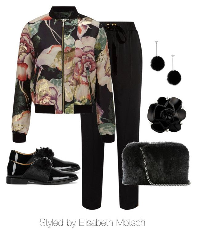 """Bomberjacke sportlich elegant"" by motsch on Polyvore featuring Mode, Mother of Pearl, Miss Selfridge, Oscar de la Renta, tuleste market und Chanel"