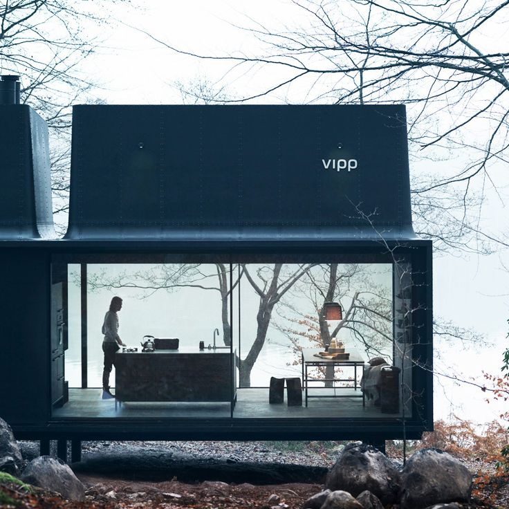 vipp's plug and play shelter serves as a comfortable retreat - designboom | architecture