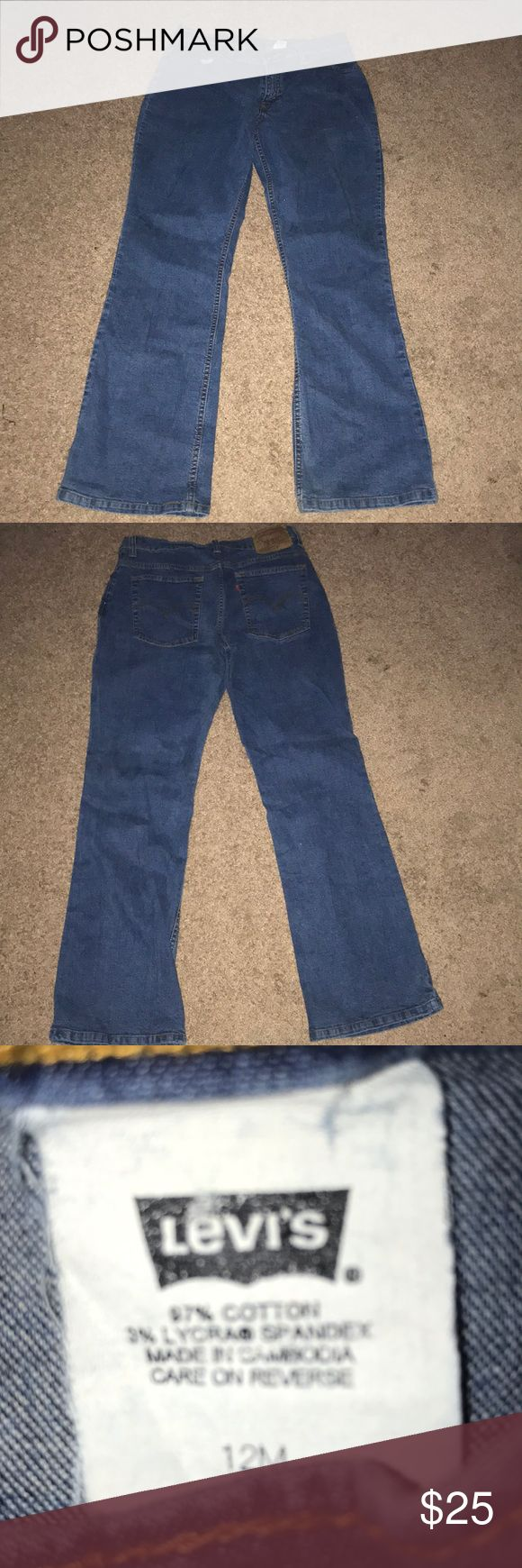 Levi's jeans Name brand jeans for cheap💙💙 Levi's Jeans Flare & Wide Leg