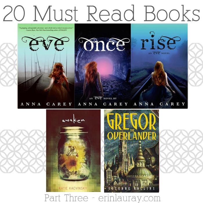 erin lauray: Book Nerd – My Favorites Part 3
