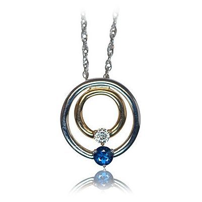 Here is yet another amazing color gemstone necklace - Parris Jewelers, Hattiesburg, MS