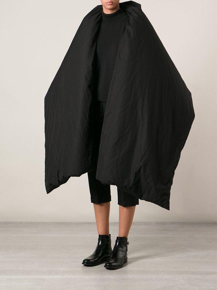 Yohji Yamamoto oversized puffer coat, FarFetch.