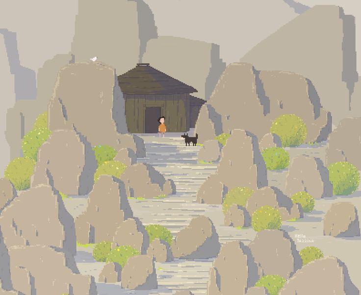 Pixel Art - HelloTazzina - Work in Progress