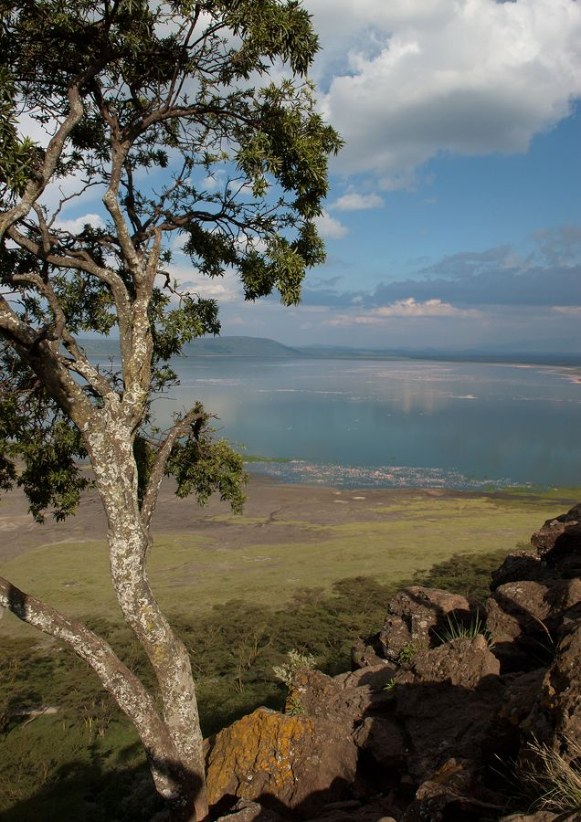 View from Baboon Cliff, ‎Lake Nakuru National Park, Kenya