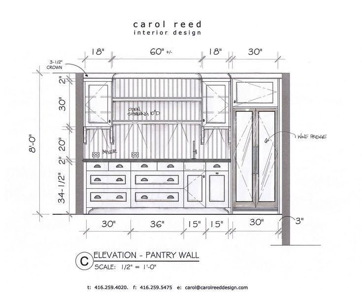 Kitchen Design Elevations 89 best elevations images on pinterest | interior design sketches
