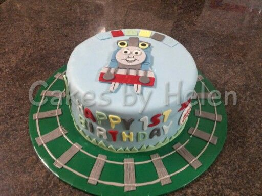 Thomas the tank engine birthday cake. #Thomasandfriends #Happybirthdaythomas #choochootrain