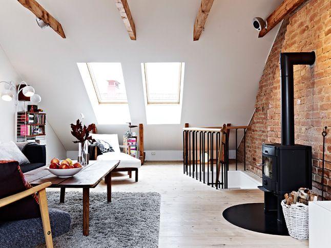 #loft #small area #simple deco