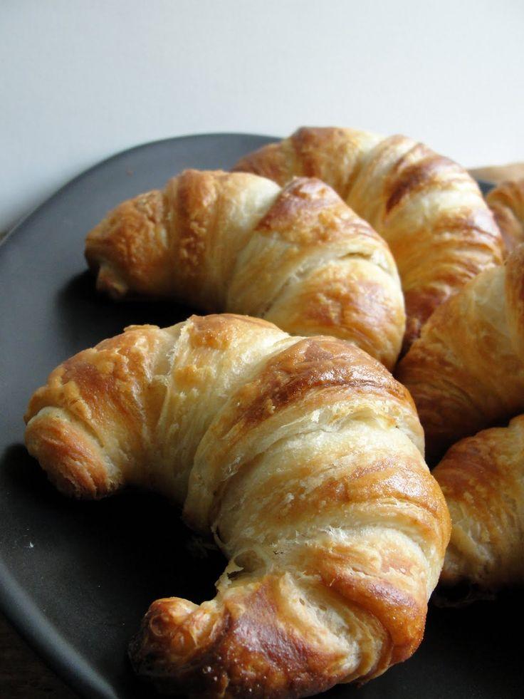 """Julia's Croissant Recipe. """"Repinned by Keva xo""""."""