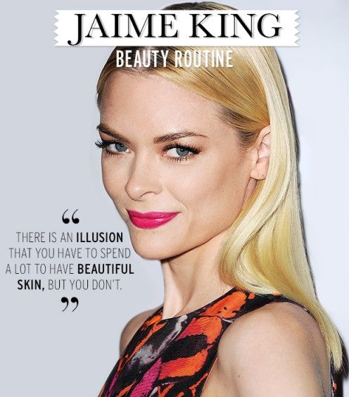 Jaime King spills all her beauty secrets - including why she brushes her teeth four times a day!