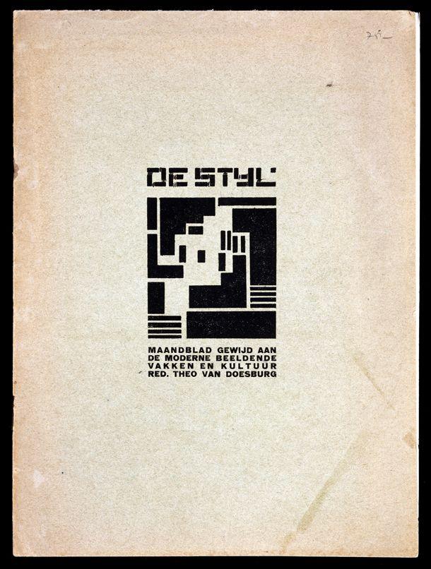 De Stijl, Number 1, 1917