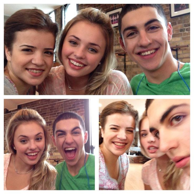 James, Riley, Michele from The Next Step!!! ❤️❤️❤️❤️❤️❤️❤️