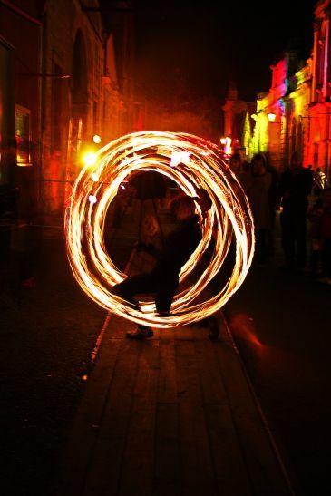 oamaru on fire - annual Steam punk event, Oamaru