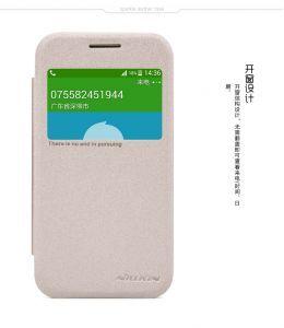 Чехол (книжка) Nillkin Sparkle Series для Samsung G361H Galaxy Core Prime VE