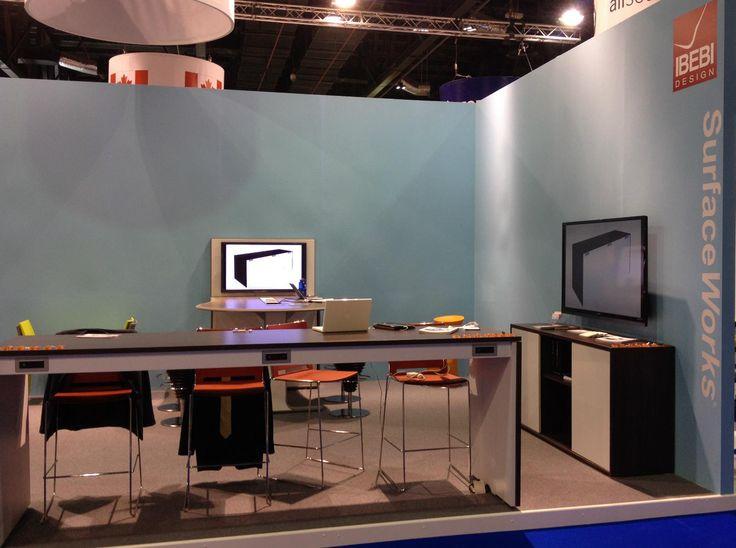 Stand IBEBI in Index-Workspace in Dubai #index #dubai #ibebi #stools #stool #table #officetable #mediatable