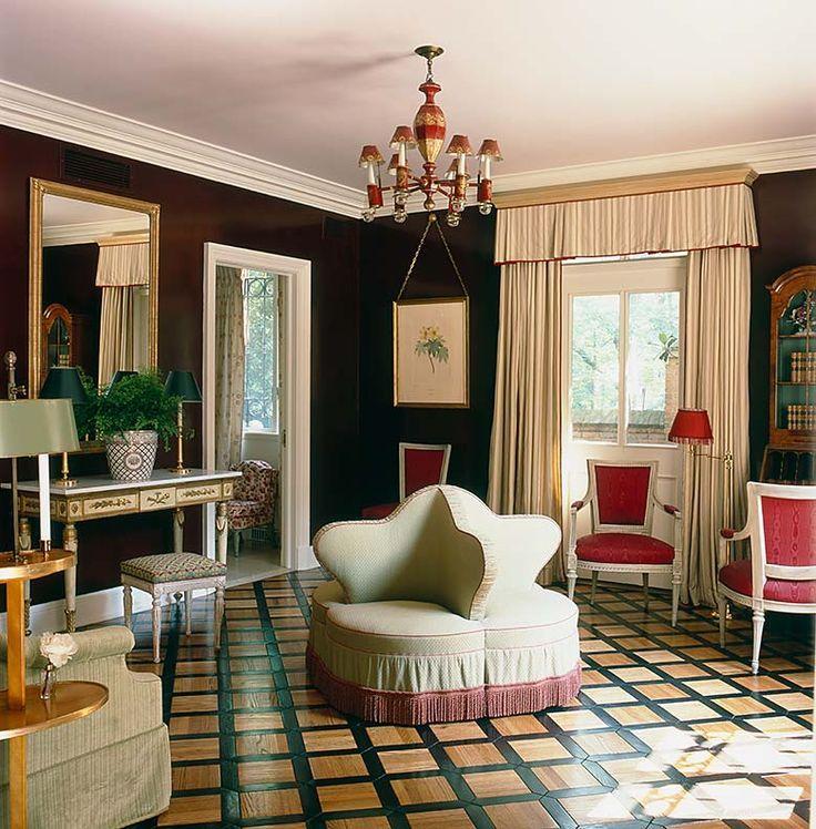 Albert hadley design french interiorsbeautiful interiorshouse