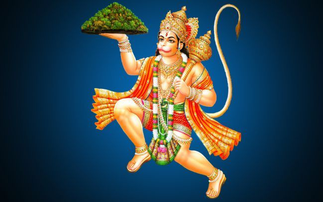 Hanuman Stories - Hanuman Lifting Dronagiri mountain to bring Sanjeevani