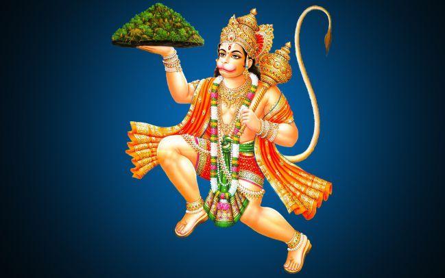 Hanuman Stories - Hanuman Lifting Dronagiri mountain to bring Sanjeevani