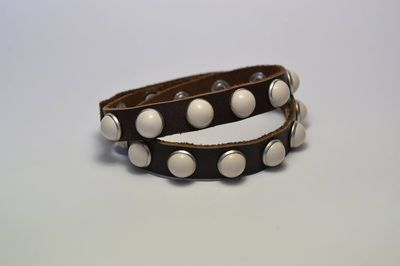Tonic White #bracelet #fashion #studswagon