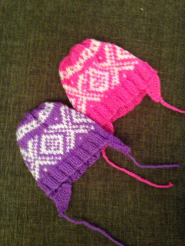 Baby hat with the Norwegian pattern #Marius