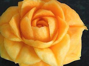 Lesson 16, Carving, การแกะสลักผลไม้, 水果雕刻, Ukiran buah, 果物のカービング, Khắc trái cây, naik ukiran, 조각 장미 - YouTube
