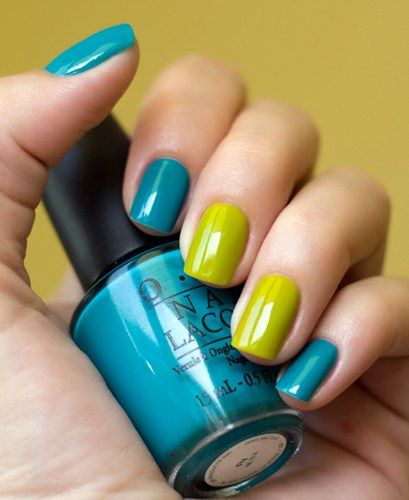 "OPI ""Fly"" & Misa ""Green With Envy"""