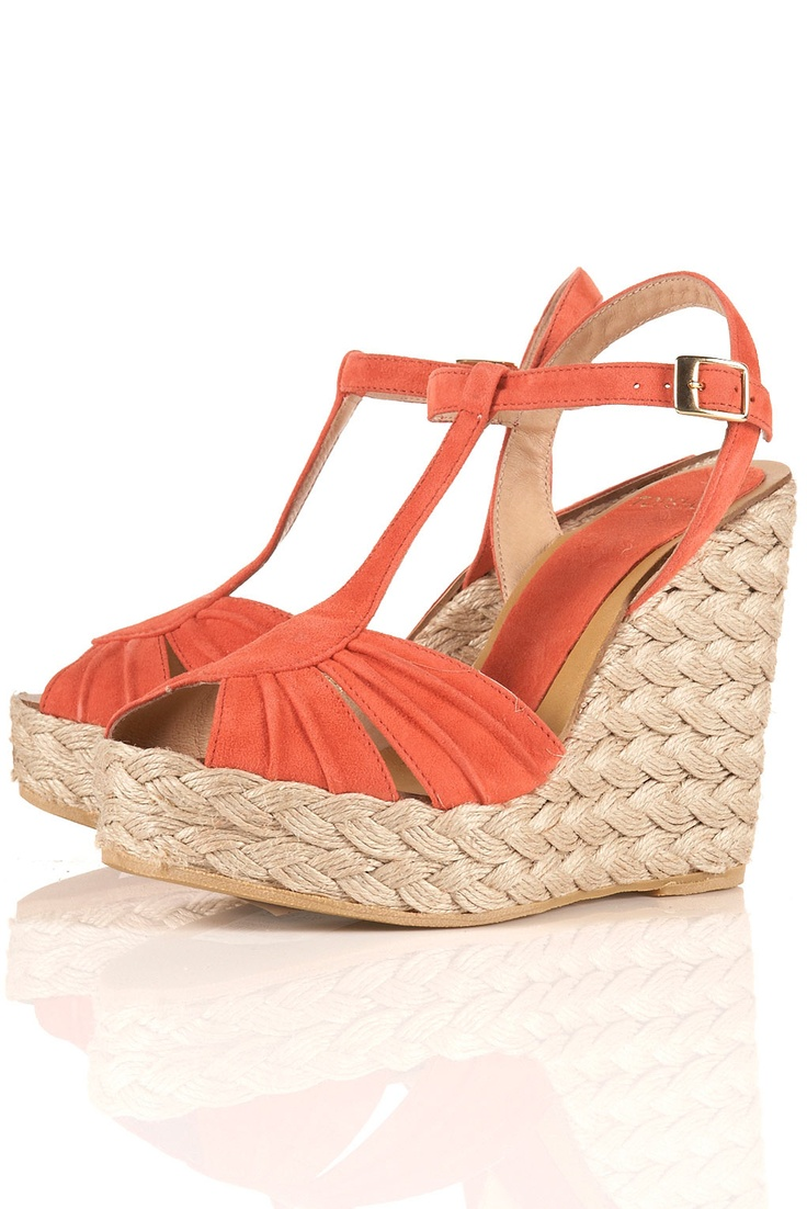 coral espadrilles? yes please