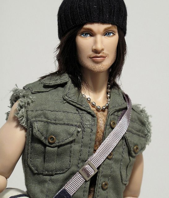Gage by Peewee Parker, via Flickr - Fashion Royalty Doll