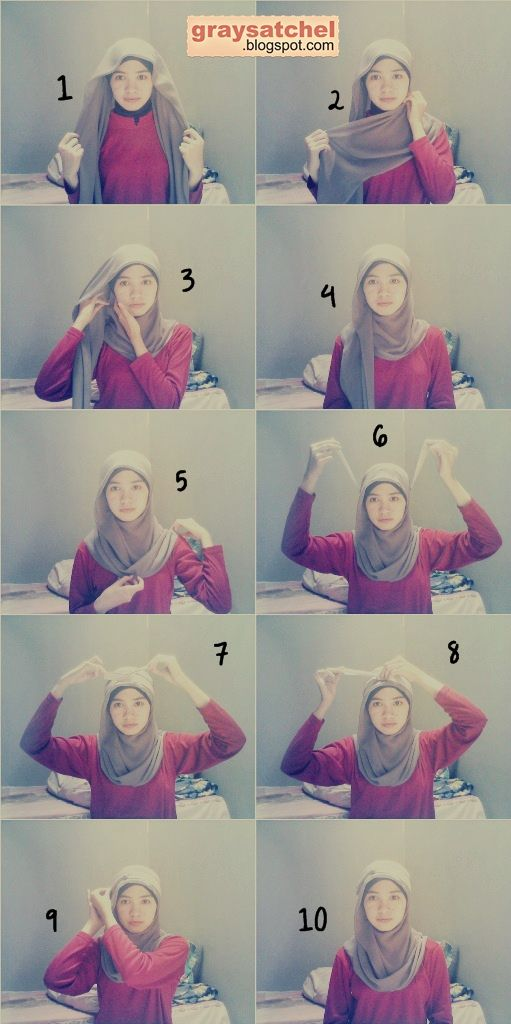 Hijab Tutorial, Paris with Headband