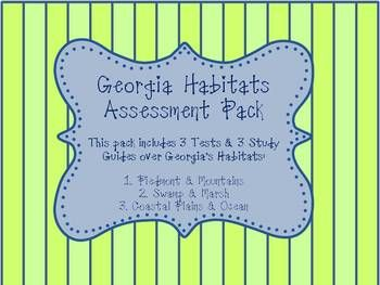 Best Georgia Habitats Ideas On Pinterest Ecosystems Th - Georgia map test