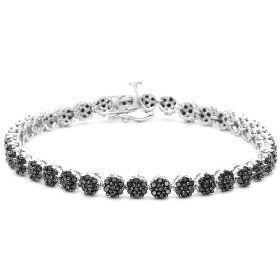 diamonds are used here for this black diamond bracelet black diamond ...