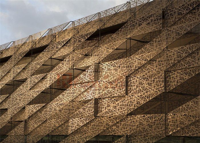 Aluminum Building Facade : Best metal facade ideas on pinterest perforated