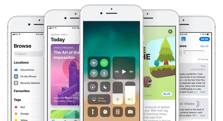 12 most adorable screens from Beta release of iOS 11 made with extra attention to the Human Interface Guidelines.