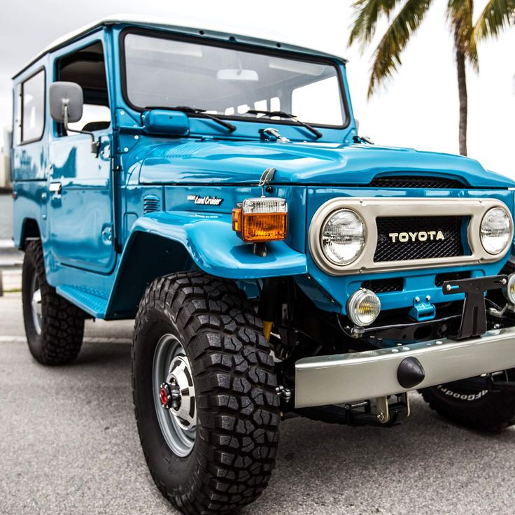 Perfectly Restored Vintage Land Cruisers That Won't Cost a Fortune