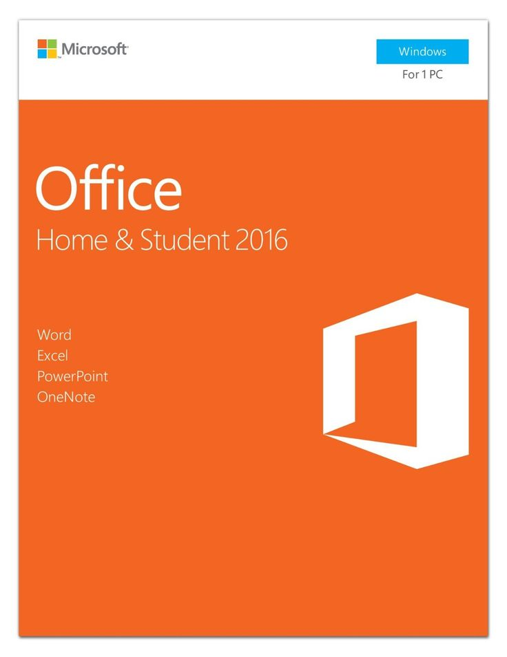 Amazon.com: Microsoft Office Home and Student 2016 | PC Key Card: Software