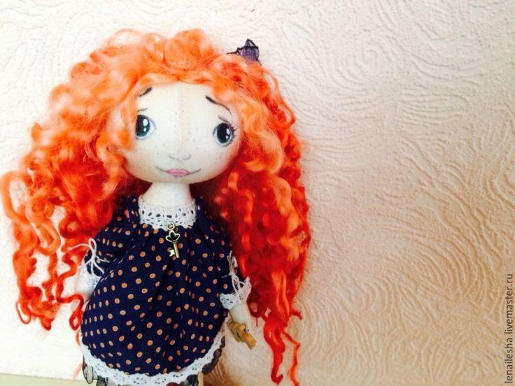 Купить Рыжик - рыжий, Кукла с рыжими волосами, рыжие волосы, храбрая сердцем, тыквоголовка, тыквоголовки