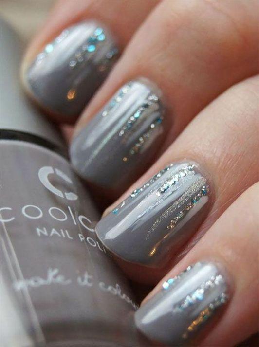 Pretty winter nails art design inspirations 44 | nails | Pinterest ...
