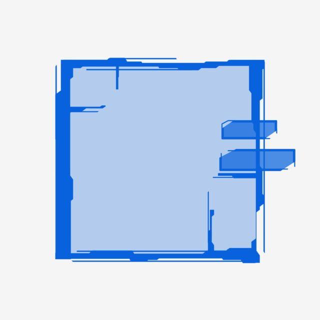 المستطيل الأزرق تقنية الخيال العلمي الحوار خلفية مادة النسيج أزرق المستطيل الخيال العلمي Png وملف Psd للتحميل مجانا Textured Background Sci Fi Technology