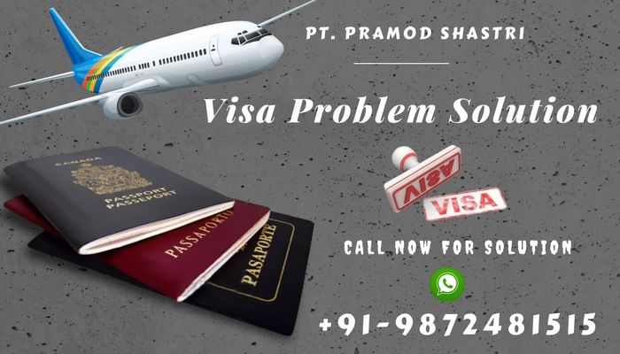 Visa & Immigration Problem Solution. If you need visa and immigration problem solution then there is no need to worry as Pandit Pramod Shastri Ji provides you any tpe of visa problem solution by astrology services. Just One Call can change your life. Call Now @+91-9872481515