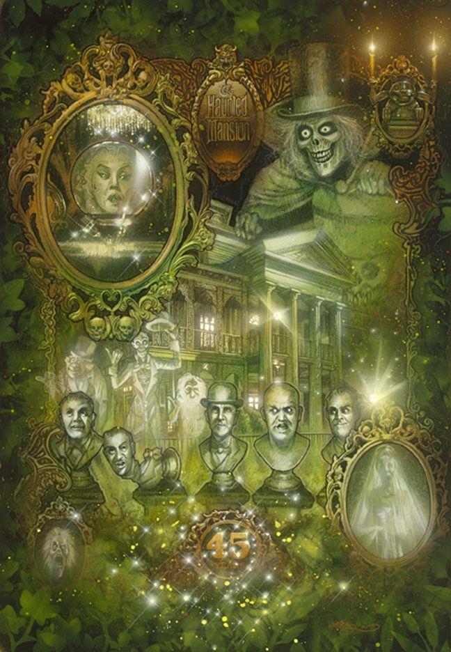 haunted mansion artwork