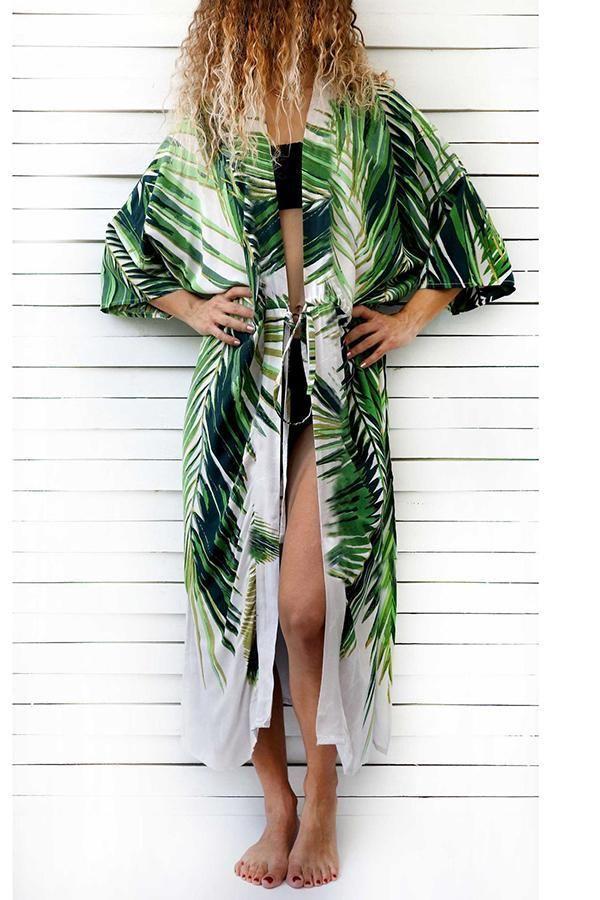 eea7f5b937 Sexy Floral Print Bikini Cover Ups Vacation Dress #bikiniset #bikinigirl  #swimwear #swimwearbeachwear