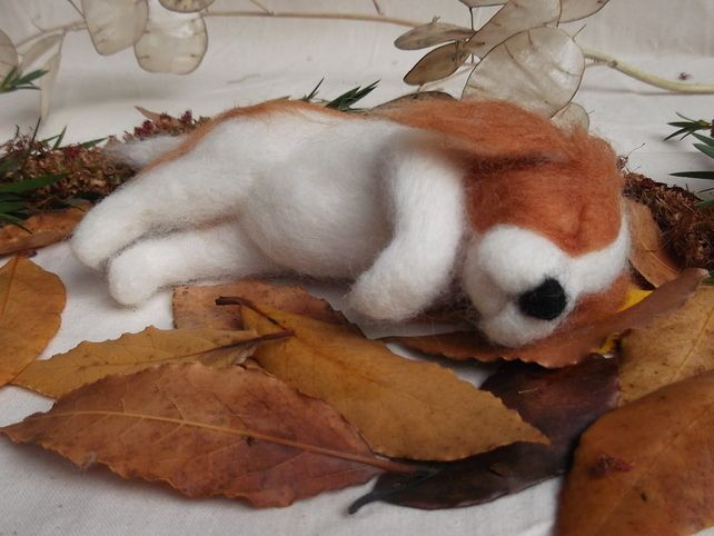Needle Felted A Puppy For All Seasons Autumn Spaniel  £50.00