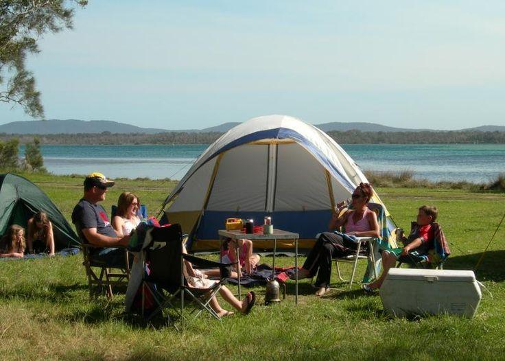 Lani's Holiday Island - Tonys Point - Lakeside camping