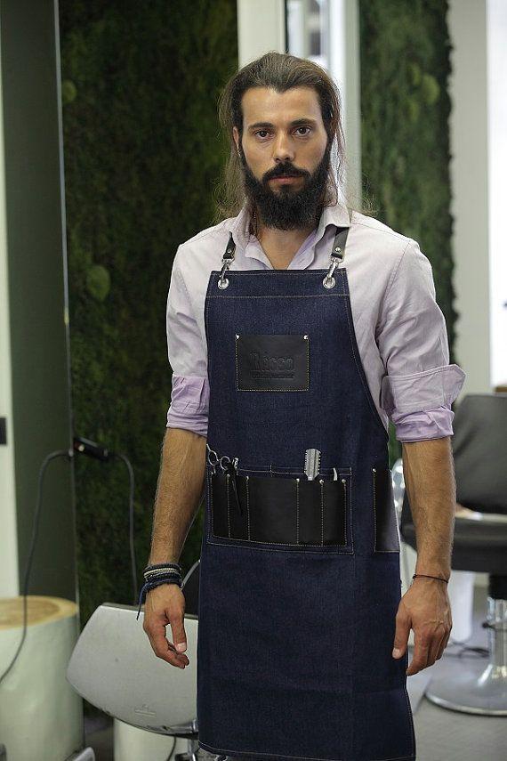 Tablier dElvis Barbier par RassoWorkwear sur Etsy