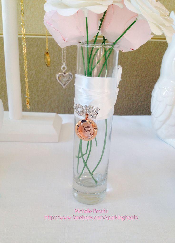 Origami Owl Bridal #bride #jewelry #vintage #origamiowl #bouquet www.tangledinlockets.origamiowl.com