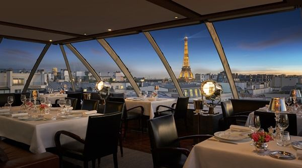 The Peninsula Paris L Oiseau Blanc Rooftop Aviation