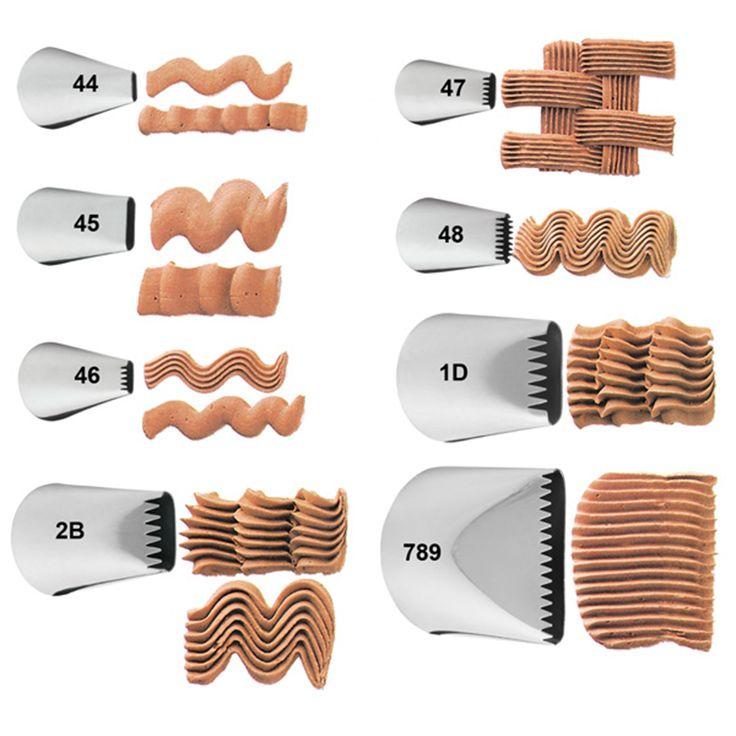 Wilton Basketweave Decorating Tips (sold Individually)